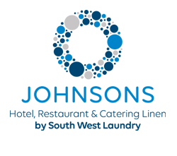Johnsons Hotel, Restaurant & Catering Linen by South West Laundry